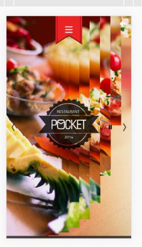 微官网美食订餐html5触屏响应式手机wap网站订餐模板下载
